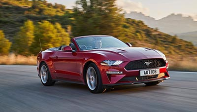Karusell Ford Mustang Convertible opt